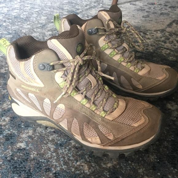 96b902c6a83d Merrell Siren Ventilator Mid Gore Tex Hiking Boot.  M 5b0330ec8af1c59e5d4c9f66